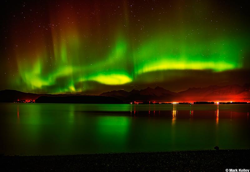 Northern Lights, Juneau, Alaska U2013 Image # 2899