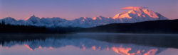 Wonder Lake  and Mt. McKinley