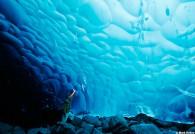 Ice Cave Mendenhall Glacier Juneau Alaska