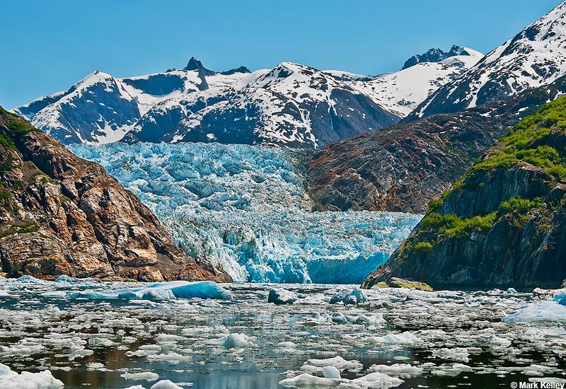 South-Sawyer Glacier Tracy Arm Mark  Kelley