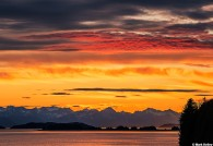 Summer Solstice Sunset_Juneau Calendar_Mark Kelley