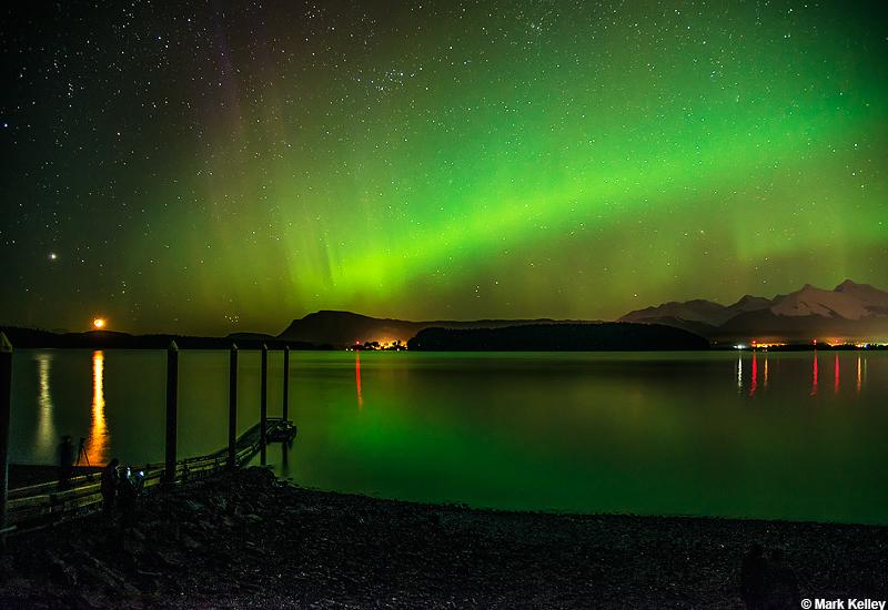 Aurora Borealis Juneau Alaska Image 2896mark Kelley