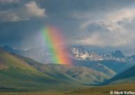 Rainbow over Savage River Drainage Denali National Park Mark Kelley