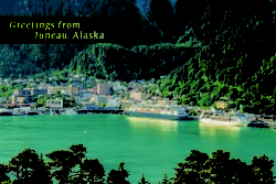 PC157 Greetings from Juneau Alaska