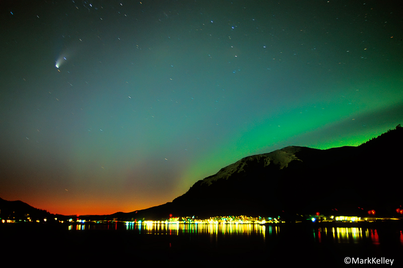 Quot Juneau Night Lights Quot Photo Art Print P157mark Kelley