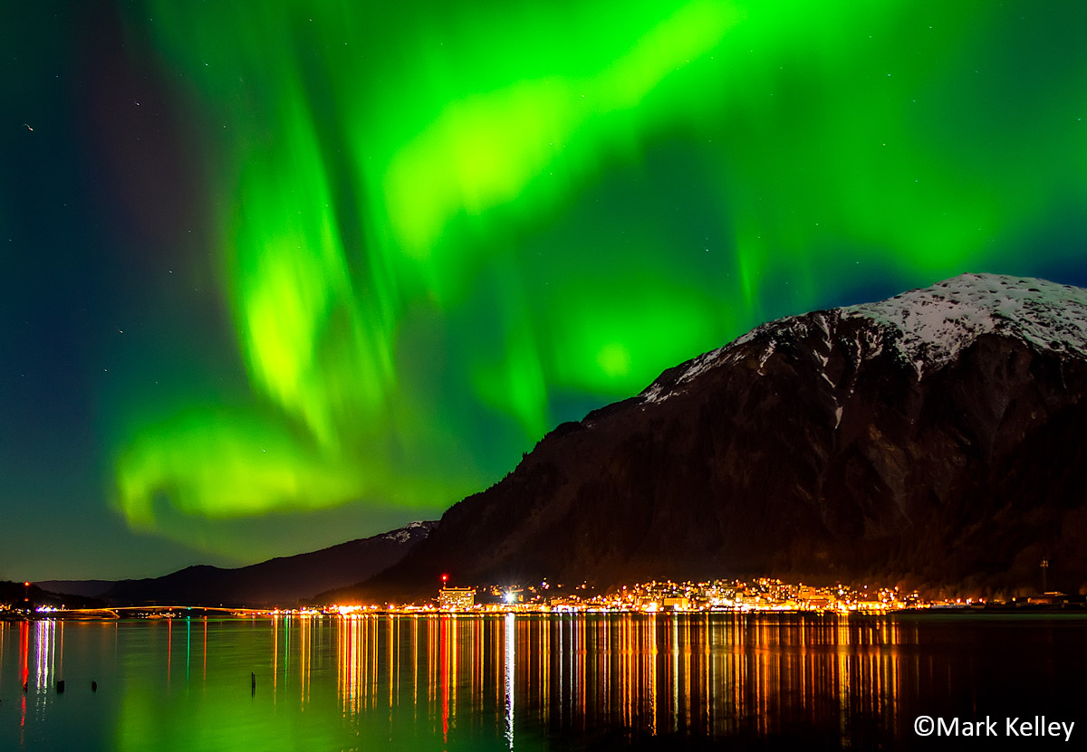 Juneau Aurora Photo Art Print P223mark Kelley Mark