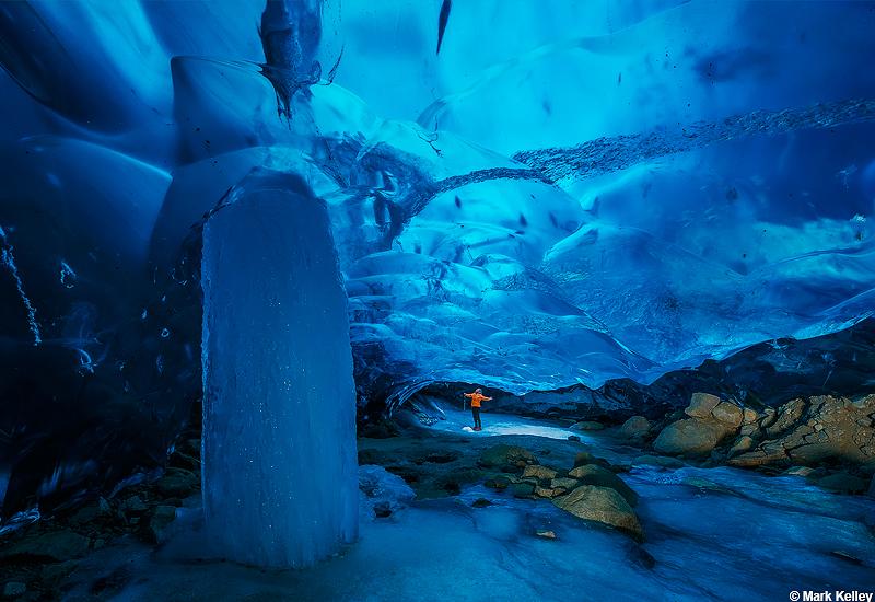 Mendenhall Glacier Ice Cave, Juneau, Alaska-Image #2942Mark Kelley ...