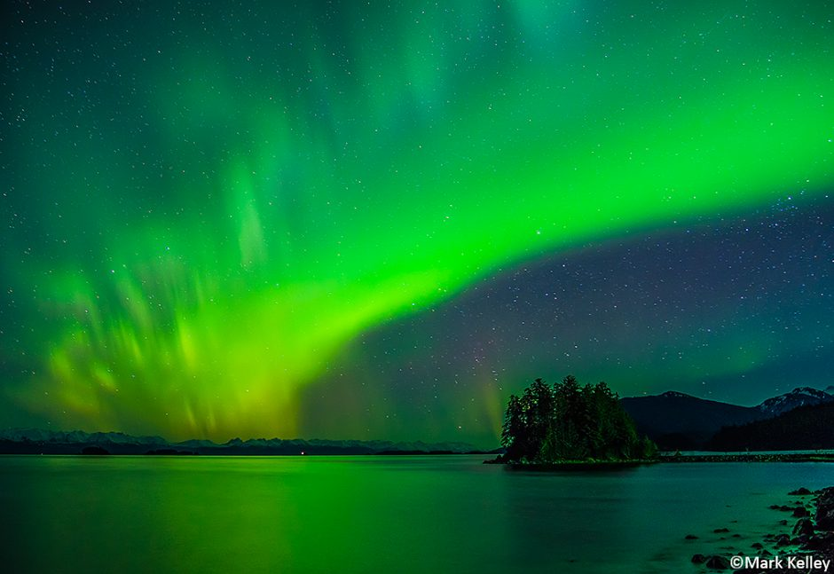 Northern Lights Shrine Of St Therese Juneau Mark Kelley
