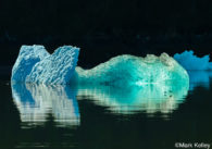Icebergs by Alaskan Photographer Mark Kelley